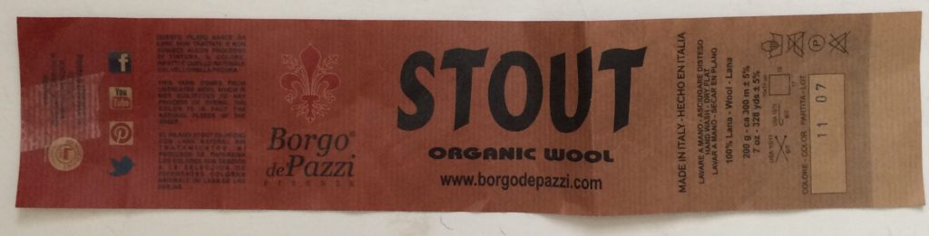 Stout label